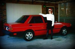 My first car. Zero accidents. One break down. Two speeding tickets.
