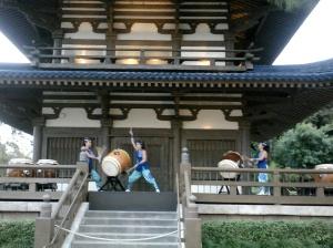 Kaiko drummers and sake-- fabulous!!